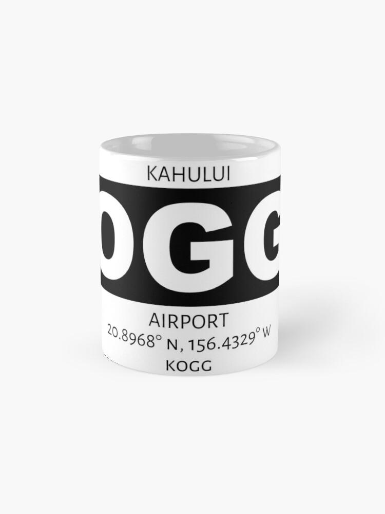 Alternate view of Kahului Airport OGG Mug