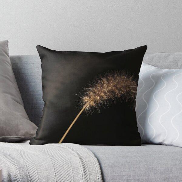 Dry Grass Throw Pillow