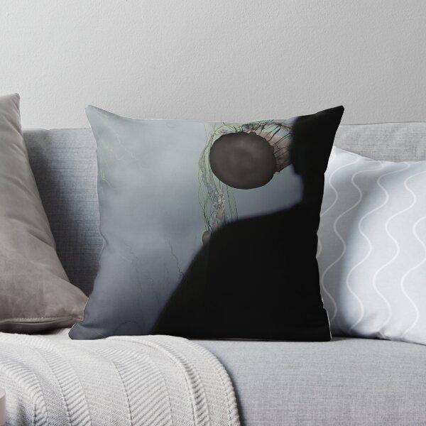 Jelly Head Throw Pillow
