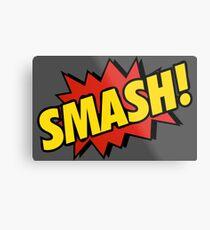 Comic SMASH! Metallbild