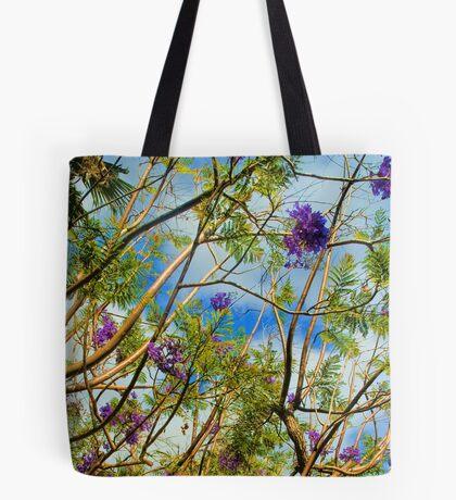 Jacaranda in flower Tote Bag