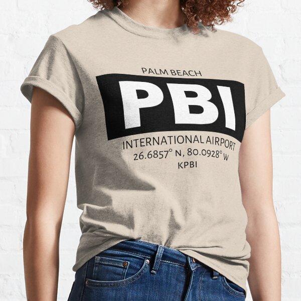 Palm Beach International Airport PBI Classic T-Shirt