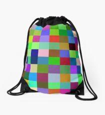 Color Squares 11 Drawstring Bag