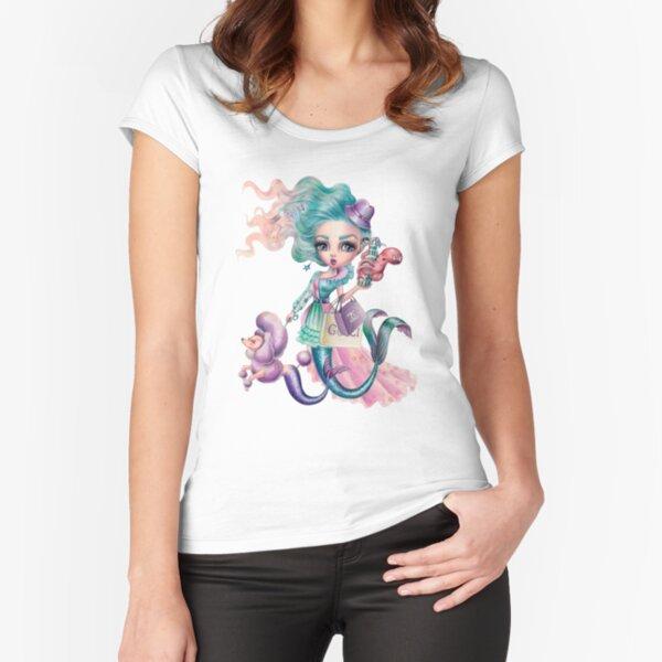 La Vie Est Belle (Life Is Beautiful) Fitted Scoop T-Shirt