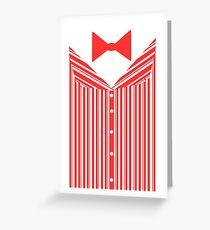 Dapper Dans (Red) Greeting Card