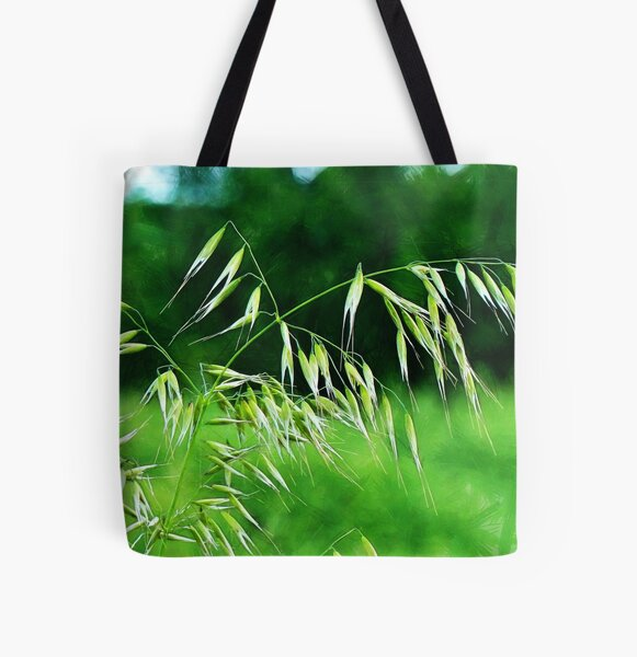 The Grass Seeds All Over Print Tote Bag