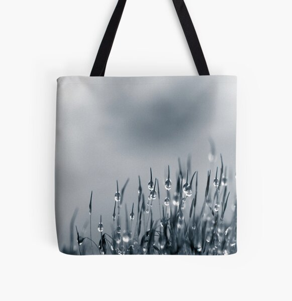 Drops of nature All Over Print Tote Bag