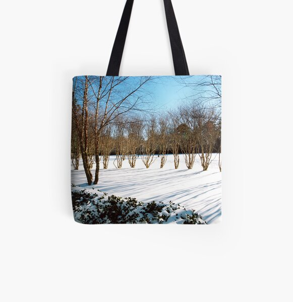 Barren, Blue, And Beautiful All Over Print Tote Bag