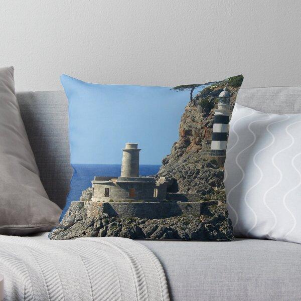 Lighthouse, Puerto de Soller, Mallorca Dekokissen