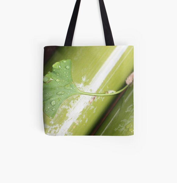 green Japan All Over Print Tote Bag