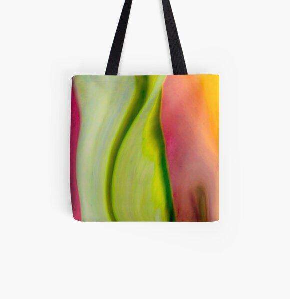 Raeleen's Abstract All Over Print Tote Bag