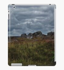 Clouds above the hills iPad Case/Skin