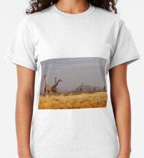 A [collective noun] of giraffes Classic T-Shirt