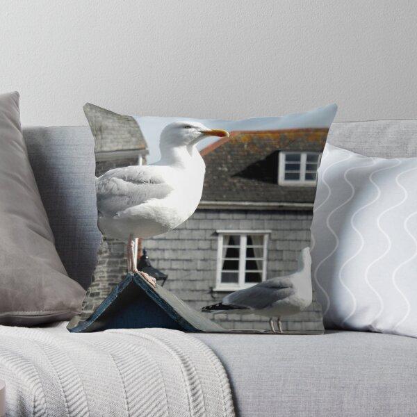 Two Seagulls, Padstow, Cornwall Dekokissen