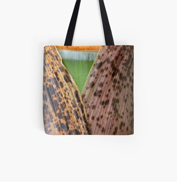 Opening to grow All Over Print Tote Bag