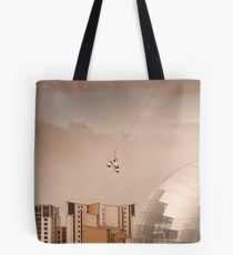 Zip Wire - Bear Grylls Tote Bag