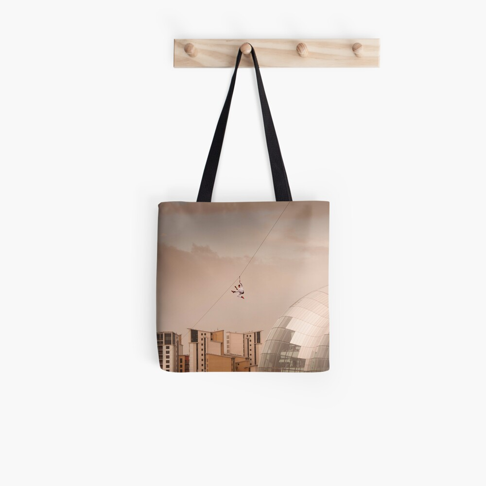 Zip Wire - Bear Grylls Tote Bag