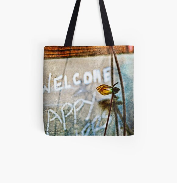 Welcome All Over Print Tote Bag