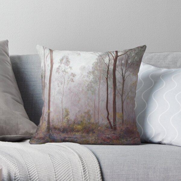'Winter at Wickham' Throw Pillow