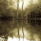 Eerie Lake by 1randomredhead
