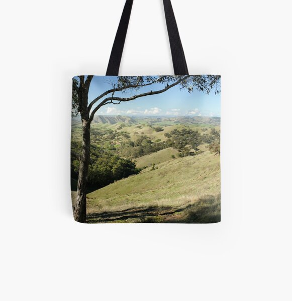 Valley of a Thousand Hills - Strath Creek Victoria All Over Print Tote Bag