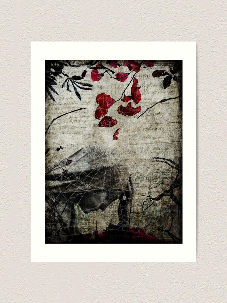 Alternate view of Rain of Rose Petals Art Print