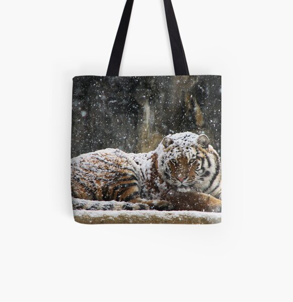 Blanket of Snow All Over Print Tote Bag