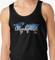 Wanderlust World Map T-Shirt