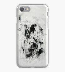Matrix #1 - Monotype on Wenzhou Paper  iPhone Case/Skin