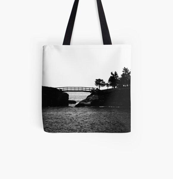 straddled All Over Print Tote Bag