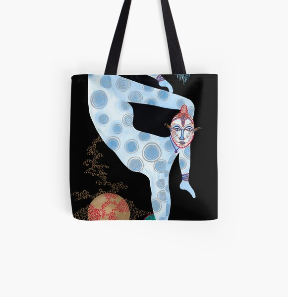CDS4 Rhapsody in Blue All Over Print Tote Bag