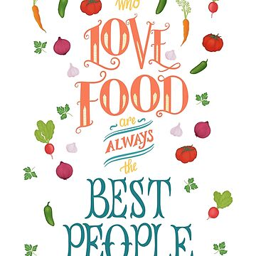 Julia Child Quote with Vegetables by carabara