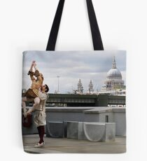 The Street Is A Stage Tote Bag