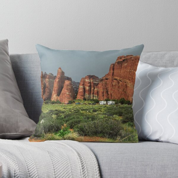 Arches National Park Throw Pillow