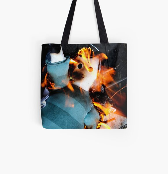 Joan of Arc All Over Print Tote Bag