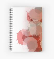 Passion Red Spiral Notebook
