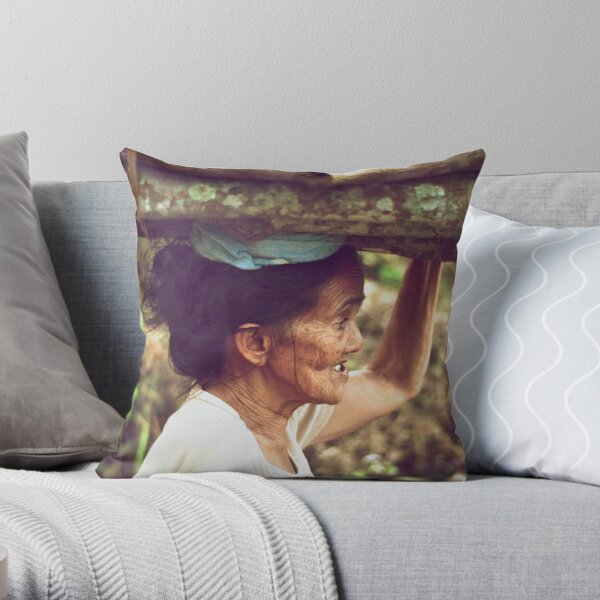 No Time to Chat Throw Pillow