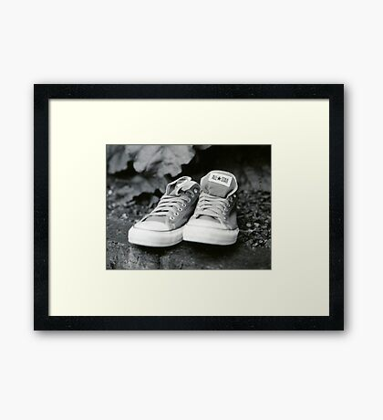 Converse Framed Print