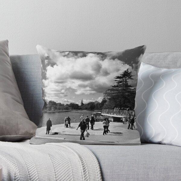 Bancroft Gardens  Throw Pillow