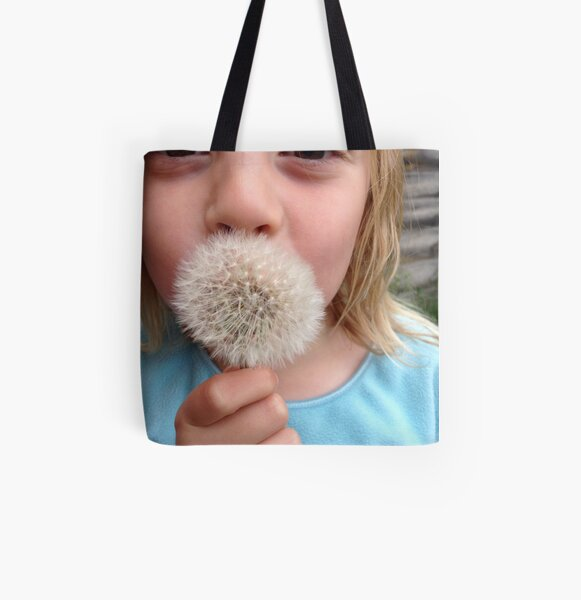 Dandelion clock 2 All Over Print Tote Bag