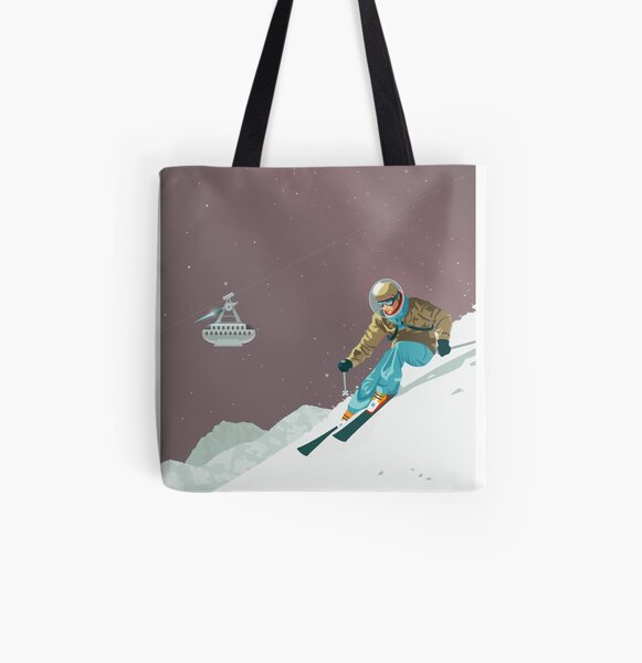 Pluto Travel Poster All Over Print Tote Bag