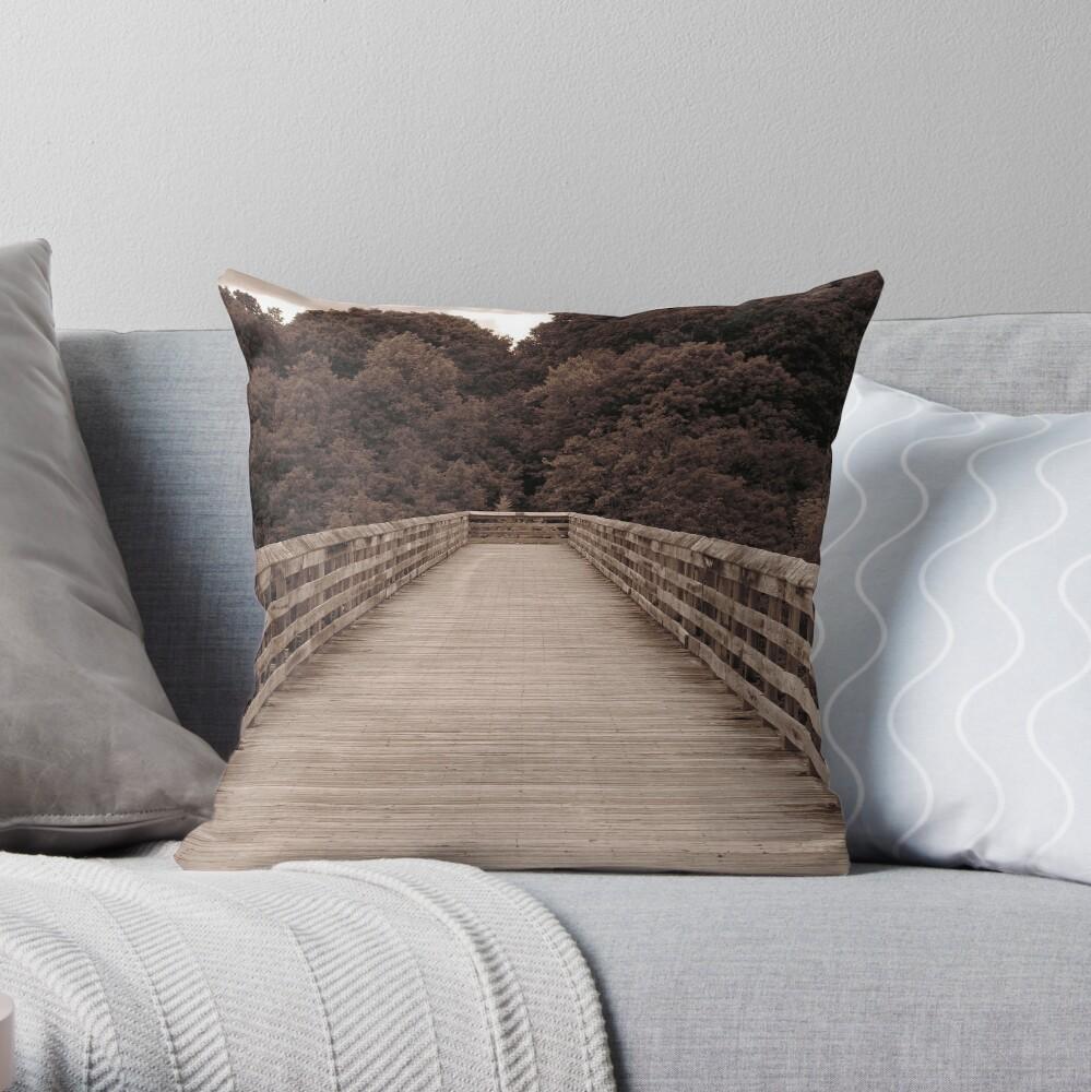 The Trestle - Rosendale Throw Pillow