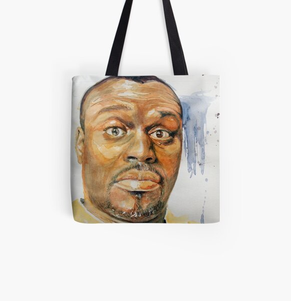 Self-Portrait - Artist In Surprised Mode All Over Print Tote Bag