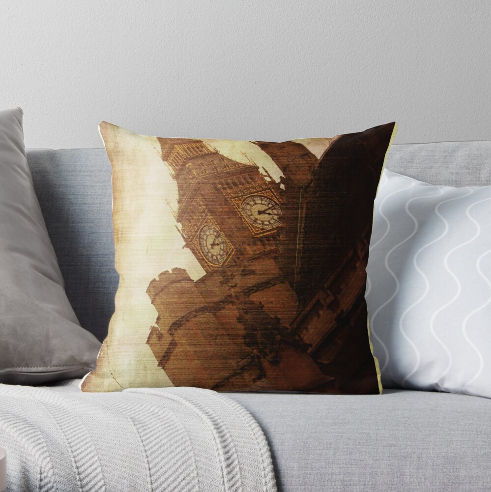 Biggest Ben Throw Pillow