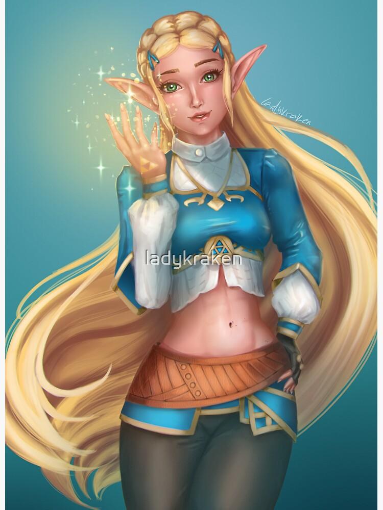 Magic Elf by ladykraken