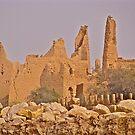 City of Old Ad'Diriyah, Saudi Arabia  by Elvira