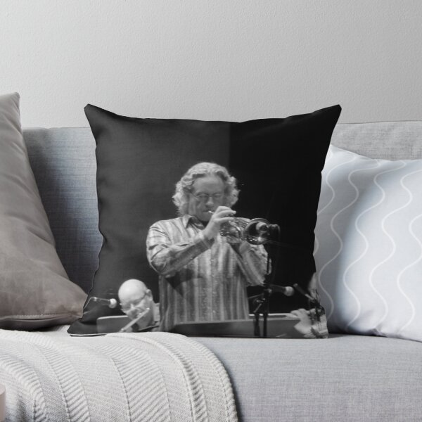 Gil Evans Orchestra Throw Pillow