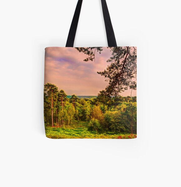 Finchampstead Ridges All Over Print Tote Bag