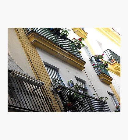 Streets of Cadiz Photographic Print