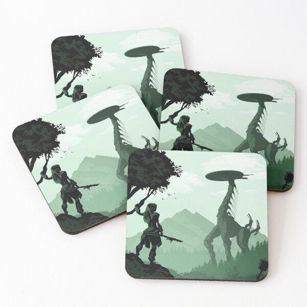 Horizon Zero Dawn Coasters (Set of 4)